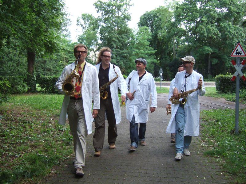 Gentle Horns Stadtgeburtstag Karlsruhe 2013