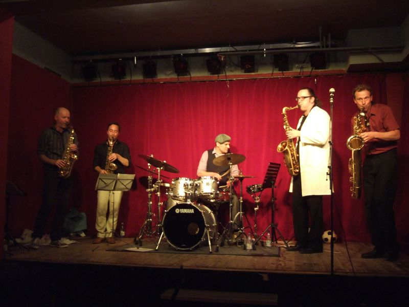 Gentle Horns live Mikado Karlsruhe 2013