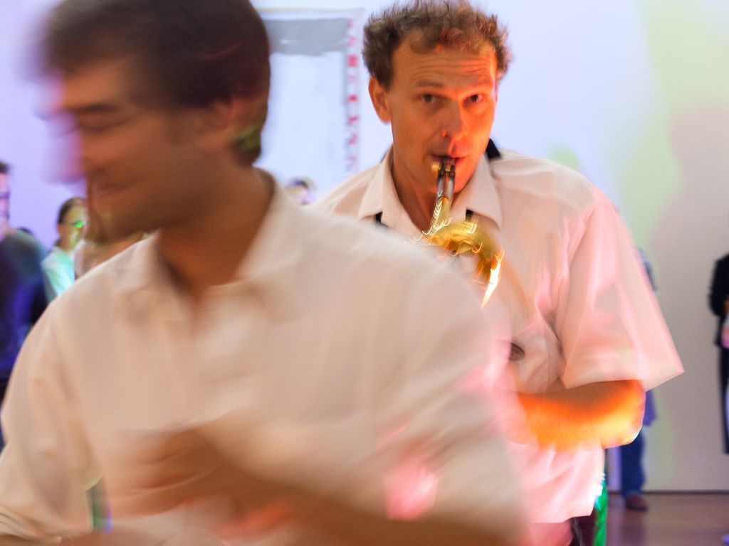 Gentle Horns live Städtische Galerie Karlsruhe - Klaus Buchner
