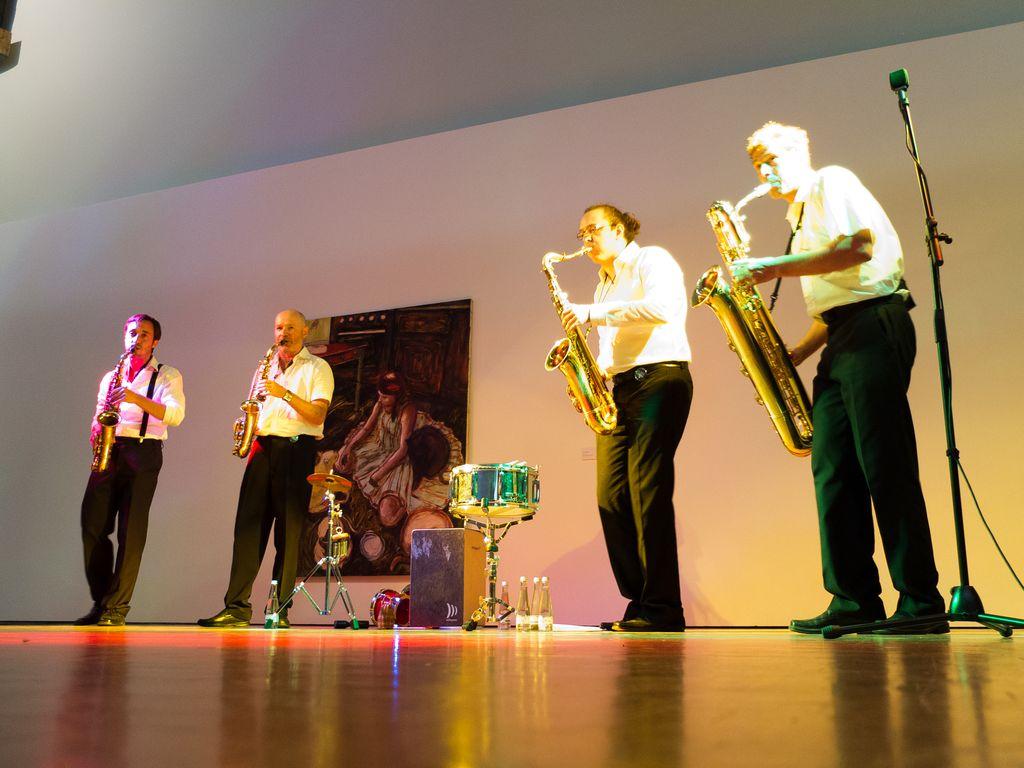 Gentle Horns live Städtische Galerie Karlsruhe