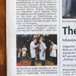 Pressebericht Muehlacker Tagblatt, Gentle Horns, 25.02.2014, Musicpark Live Maulbronn